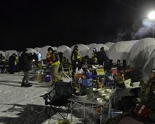 マイナス20度の極寒の中でひと晩過ごす!? 人間の限界を試す、日本一の厳寒イベント