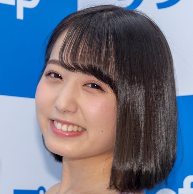 DVD&Blu-ray発売イベントに登壇した前田美里