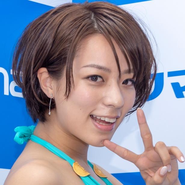 DVD&Blu-ray発売イベントに登壇した小瀬田麻由