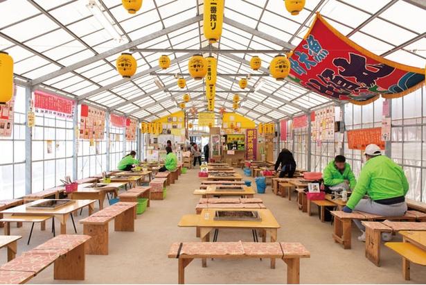 かき小屋恵比須丸 / 岐志漁港では一番の古株
