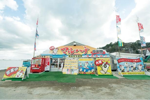 カキハウスマルハチ(糸島市・志摩船越)
