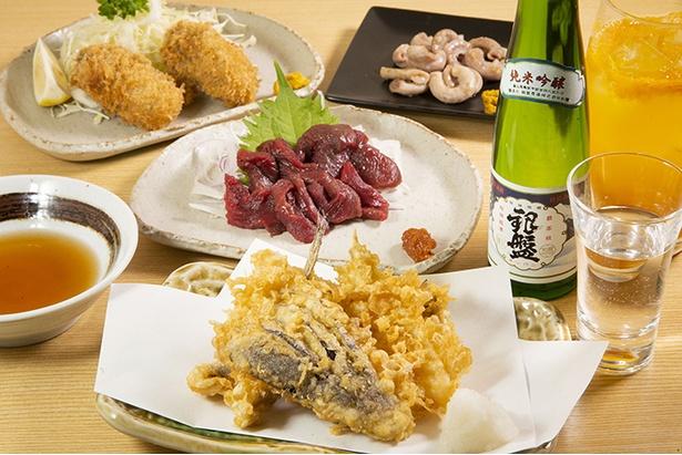 「季節料理とお酒 みかわや」の素材にこだわった料理と全国の日本酒