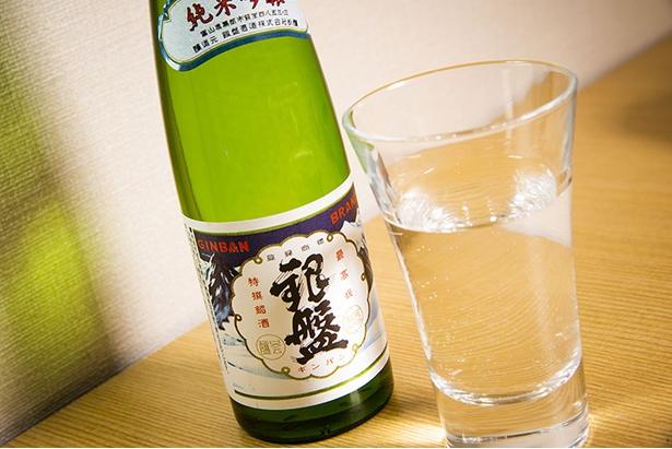 「富山県の銀盤 純米吟醸1合瓶」(750円)