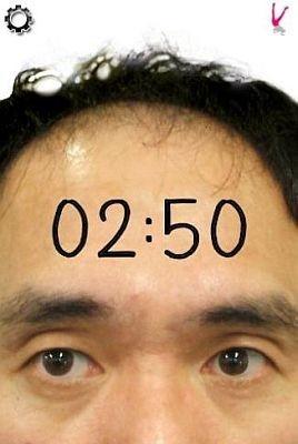 挙動不審な江頭2:50が楽しめる「顔時計」