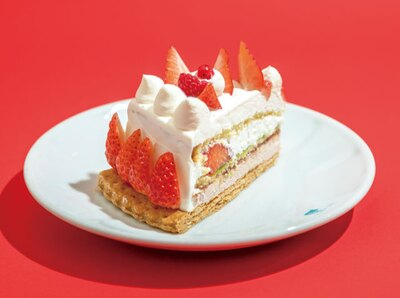 キル フェ ボン福岡 / 「練乳クリームとイチゴムースのタルト」(756円)
