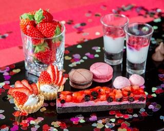 イチゴ×チョコ!7日間限定のバレンタインブッフェがヒルトン那覇に登場