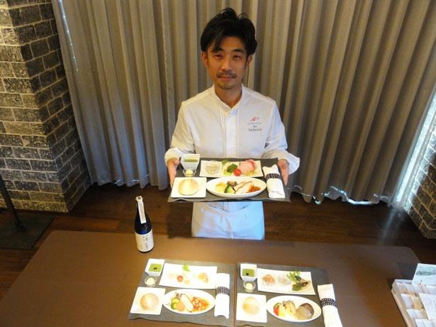 今回の料理を監修した高田和明シェフ