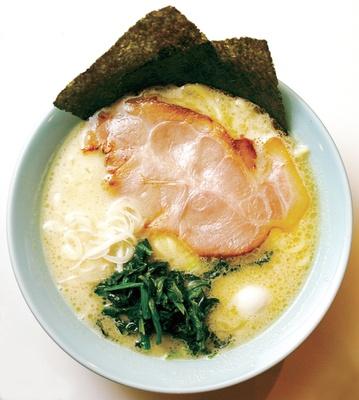 塩豚骨ラーメン(650円)