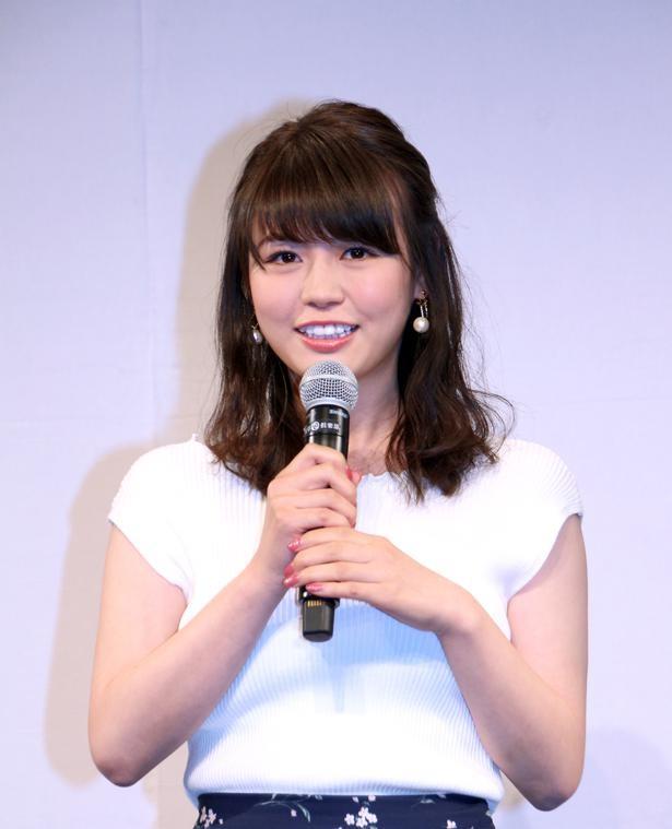 ファースト写真集発売が決定した井口綾子