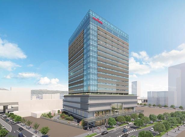 「村田製作所 みなとみらいイノベーションセンター」の完成イメージ