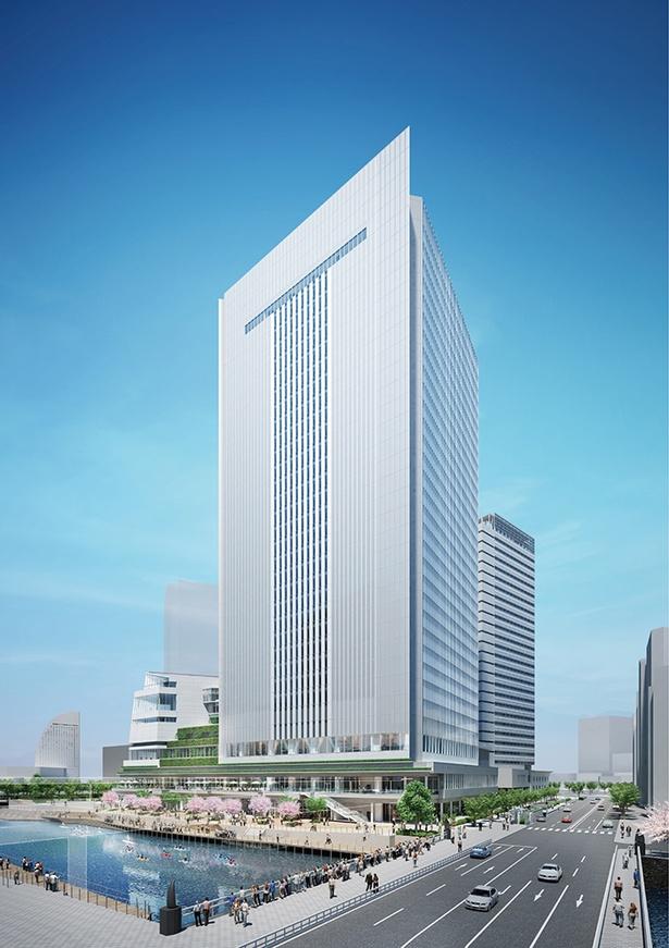 「横浜市新市庁舎」の完成イメージ