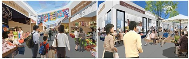 「ブランチ横浜南部市場」の完成イメージ