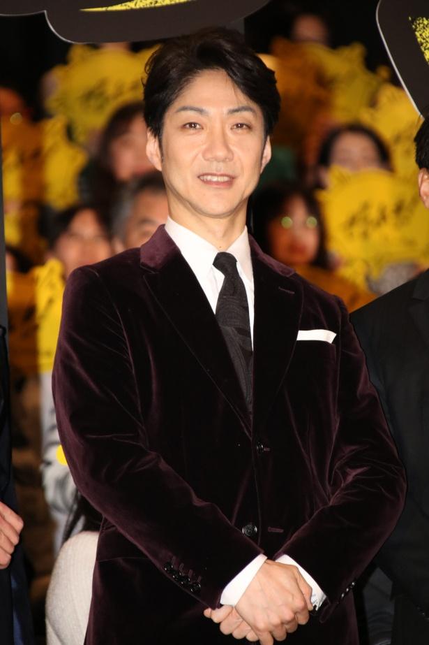『七つの会議』で主演を務めた野村萬斎
