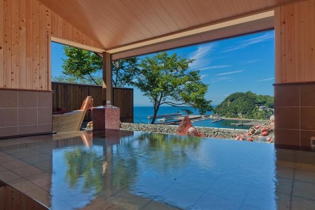 「漁火の宿 シーサイド観潮」の大浴場