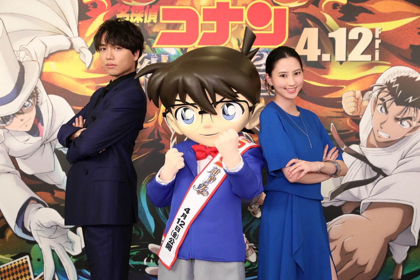 『名探偵コナン 紺青の拳』のゲスト声優が決定!