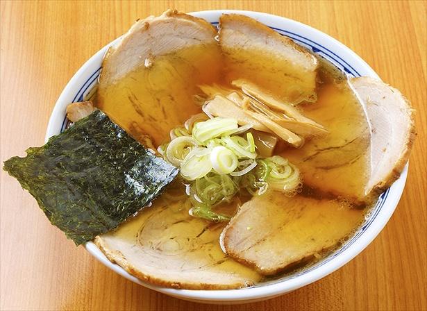チャーシュー麺(手打麺・並)