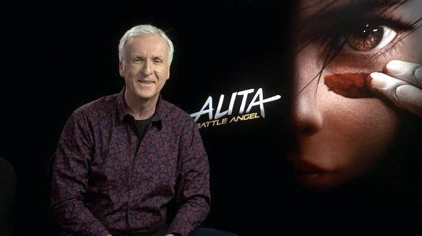 『 アリータ:バトル・エンジェル』のプロデューサーを務めたジェームズ・キャメロンが緊急会見