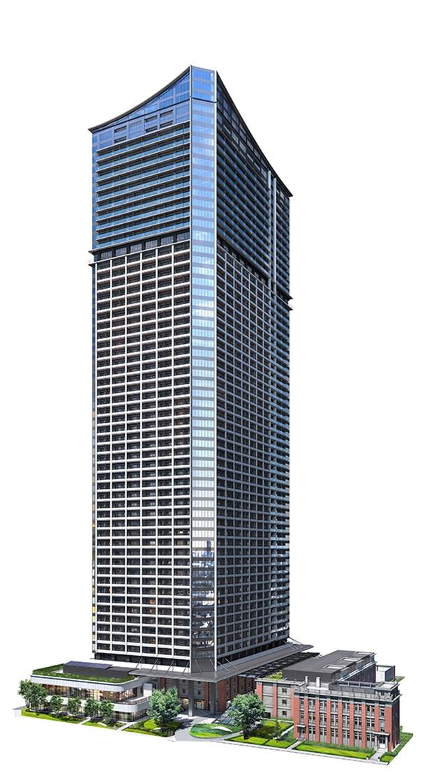 「横浜ランドマークタワー」に次ぐ市内2番目の高さを誇る、「ザ・タワー横浜北仲」