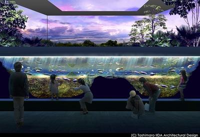 【写真を見る】「川崎ルフロン水族館」の完成イメージ