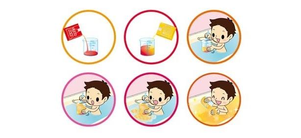 お風呂が実験室に まぜて練る新感覚入浴剤登場 7 9