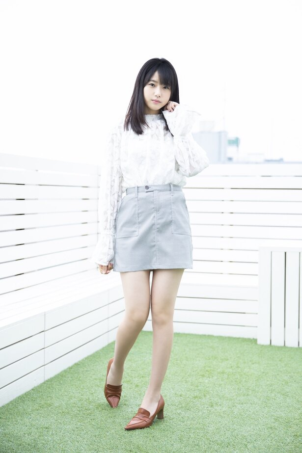 【写真を見る】瀧野由美子さん(STU48)「初めての全員曲なのですごくうれしいです。」