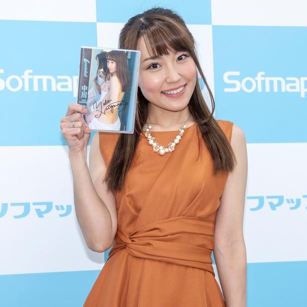 中川祐子DVD「bewitched」(イーネット・フロンティア)発売イベントより