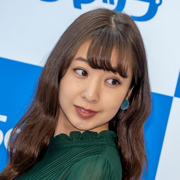板野成美DVD「恋してイタノ」(ラインコミュニケーションズ)発売イベントより