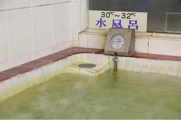 「この温度の水風呂は珍しい!」と、銭湯好きの間でも話題