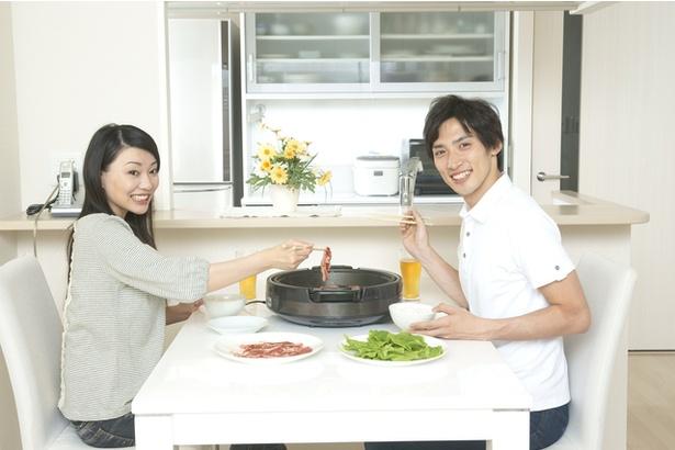 """【写真】おうち焼肉は""""焼き目""""が肝心!?"""