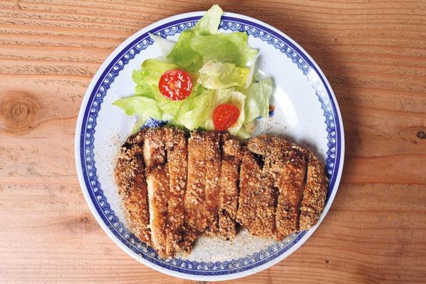 台湾フライドチキン小鶏排(410円)/中華アジアンバル 玉造夜市