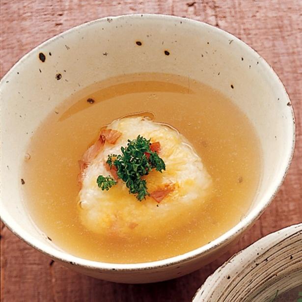 【関連レシピ】コンソメスープ茶漬け