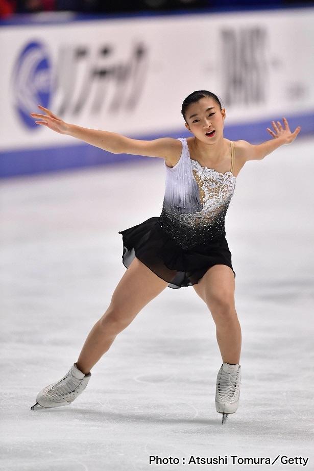 「全日本選手権」で新女王となった坂本花織選手