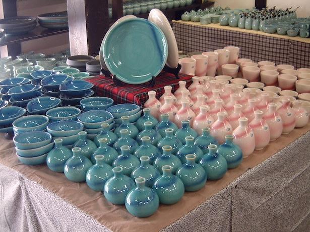 水茎焼陶芸の里で「大掘出物市2019」開催