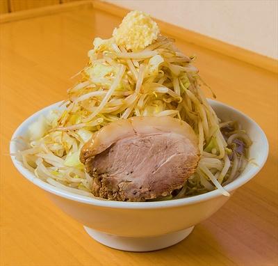 麺家 大須賀 白河店の「ともラーメン 野菜大盛り」