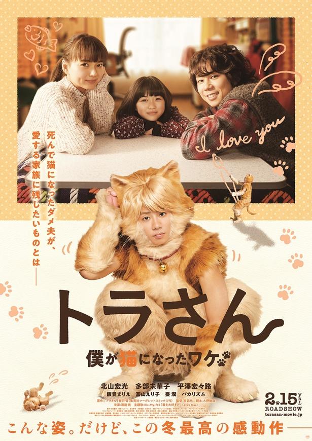 映画『トラさん~僕が猫になったワケ~』は2月15日(金)公開
