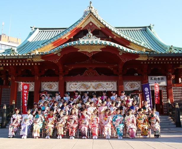 1月14日に東京・神田明神で行われた「AKB48グループ2019年新成人メンバー成人式記念撮影会」