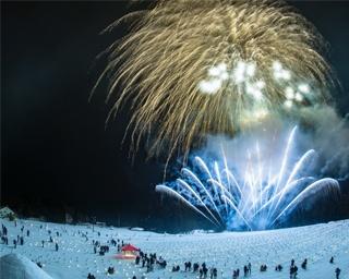 えちごかわぐち雪洞火ぼたる祭 ポスター
