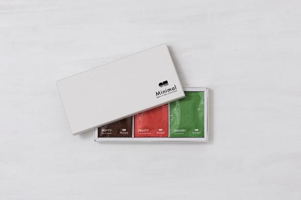 【写真を見る】男性が好きなシンプルデザインのパッケージ