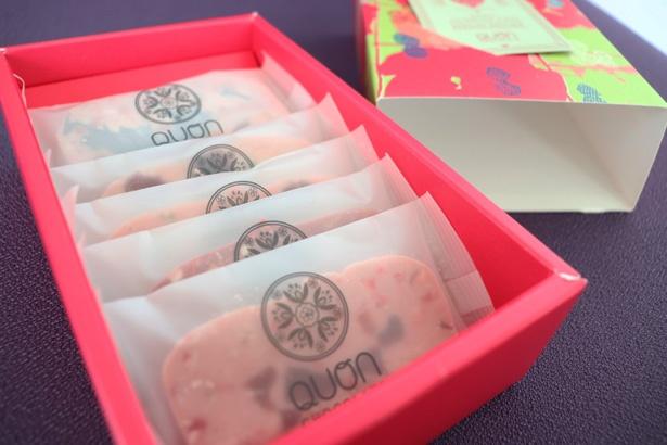 「QUONテリーヌ LoveBerry BOX」(1620円)