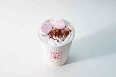 ブランジェ浅野屋「にゃらんショコラ」(レギュラー540円/トール640円)