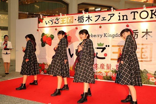 「いちご王国」公式応援ダンスユニット「SDC TEENS」