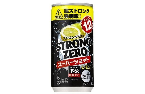 12/7発売の「-196℃ ストロングゼロ<スーパーショット>」(141円)