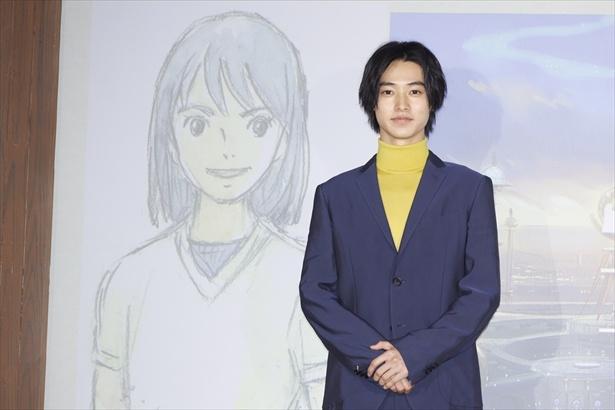 アニメーション映画「二ノ国」に主演する山崎賢人