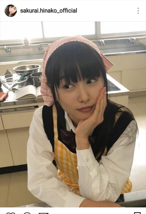 ※画像は桜井日奈子公式Instagram(sakurai.hinako_official)のスクリーンショットです