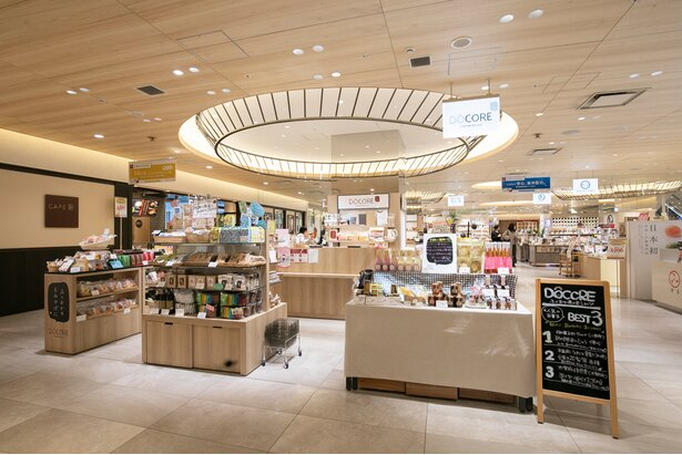 福岡県産の商品が、地域を越えて勢ぞろいするのは「DÔCOREふくおか商工会ショップ」だけ