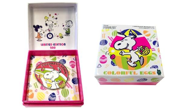 【写真を見る】スヌーピータウンショップ オリジナル「ピンバッジBOX」(税抜1380円)※限定200個