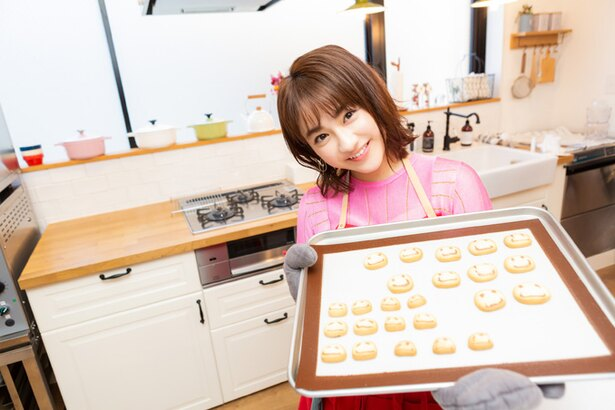 クッキー作りに挑んだ平祐奈