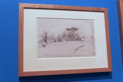 1926年当時の「アッシュダウンの森」のスケッチ