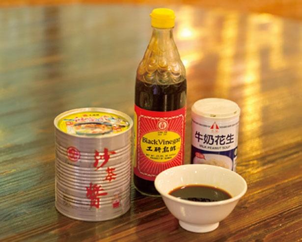 ゴマ油や酒、醤油など20種以上を現地から取り寄せ、台湾と同じ味を提供する/台湾美食空間 一路發