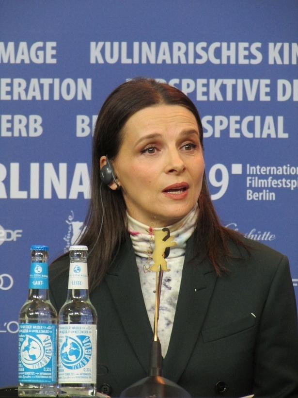 第69回ベルリン国際映画祭のコンペ審査員長を務めるジュリエット・ビノシュ